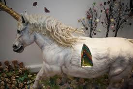 life size unicorns life size rainbow unicorn cake the mary sue