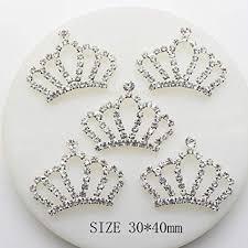 20pcs 30x40mm Imperial Crown <b>Crystal</b> Shape Christmas <b>Buttons</b> ...