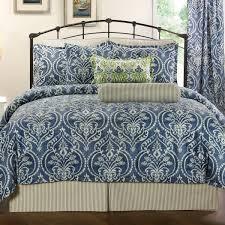 allegra denim comforter set