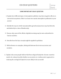 file ess important essay question asnwer 22 ess essay
