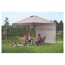 Coleman Instant Canopy with Sunwall 10 x10 Gray Tar