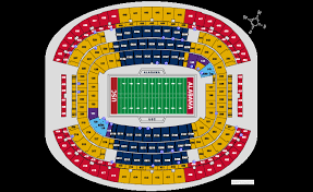 Systematic Usc Football Seating Chart Metlife Stadium