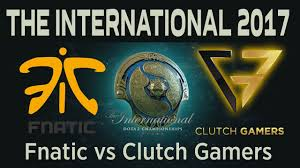 dota 2 live fnatic vs clutch gamers the international 2017
