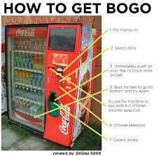 How To Cheat A Vending Machine