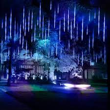 Falling Rain And Light Verxii Home Falling Rain Lights 13 8ft 8 Tube 224 Leds Meteor Shower Lights Waterproof Icicle Snow Fall String Cascading Lights Christmas Lights