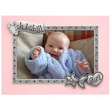Malden International Designs Photo Frames Malden International Designs Its A Girl Juvenile Pink With