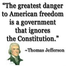 Famous Quotes By Thomas Jefferson Interesting The Greatest Danger To American Freedom Is A Government That Ignores