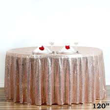 round table cloths whole premium blush sequin round tablecloth for wedding banquet party white tablecloths bulk