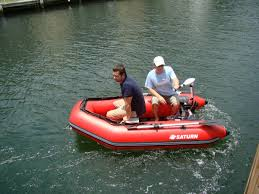 saturn slated floor inflatable boat ss260