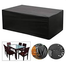 breathable garden furniture covers. OOFIT Waterproof Garden Furniture Cover Patio Table Set, Breathable Oxford  Fabric Rectangular Cover, Breathable Garden Furniture Covers E