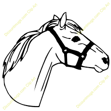 horse head clipart. Interesting Horse Clipart Info With Horse Head