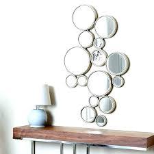 circle wall decor mirrored circles wall decor clock round mirror wall art amazing circle mirror wall circle wall decor