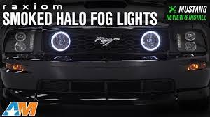 2006 Mustang Fog Lights 2005 2012 Mustang Gt Raxiom Smoked Halo Fog Lights Review Install