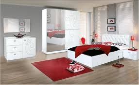 dark grey black and white red bedroom decorating ideas gold on