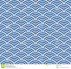 Japanese Wave Pattern Delectable Japanese Wave Pattern Stock Illustration Illustration Of Summer