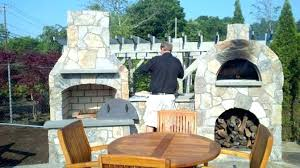 pizza oven fireplace outdoor fireplace and pizza oven outdoor fireplace pizza oven combo kits pizza oven