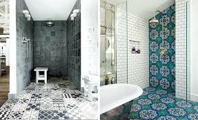 Patterned Bathroom Floor Tiles Cool Cool Patterned Bathroom Floor Tiles Patterned Tiles Shower Patterned