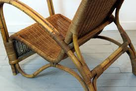 bamboo rattan chairs. Best Solutions Of Vintage Bamboo Rattan Lounge Chair For Sale At Pamono Marvelous Chairs