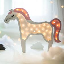 Unicorn Night Light Lamp Gadget Bedside Nightlight Ifancee