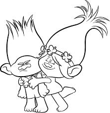Afbeeldingsresultaat Voor Poppy Trolls Kleurplaat Malování