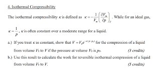 compressibility definition. isothermal compressibility the k is defined as k\u003d | . while definition e