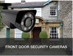 front door security cameraSecurity cameras for home and business