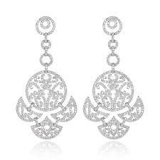 xiumeiyizu high quality brand silver plated full g aaa cubic zirconia cz art deco long chandelier