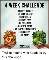 no fast food challenge. Simple Food Candy Cookies And Fast Food 4 WEEK CHALLENGE NO CHIPS OR FRIES Inside No Food Challenge