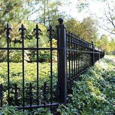 Decorative Iron Fence Decorative Metal Fence Panels mailgappme