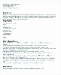 Resume Work Experience Format Interesting Sample Resume Showing Work Experience Impressive Download Resume