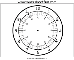 Free Printable Clock Faces With Minutes Firstgradefaculty Com