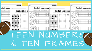 fun numbers worksheets for kindergarten ten frames and numbers in one activity