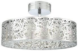 full size of home improvement chrome flush mount nerisa crystal chandelier light ceiling lights led semi