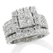 4 ct t w princess cut quad diamond frame bridal set in 14k white Wedding Band Sets Zales t w princess cut quad diamond frame bridal set in 14k white gold wedding band sets zales