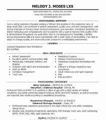 Sleep Technician Resume Sample Technician Resumes Livecareer