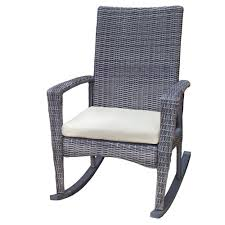 tortuga outdoor bayview wicker rocking chair