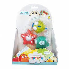 "<b>Игрушки для ванной</b> ЯиГрушка ""Морская звезда, <b>рыба</b>-<b>еж</b>, китенок"""