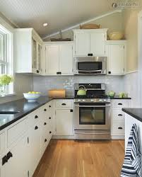 Large Kitchen Layout Wonderful L Shaped Kitchen Layout With Corner Pantry Photo Design