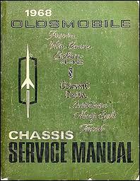 1968 olds cutlass 442 f85 wiring diagram manual reprint 1968 oldsmobile repair shop manual original 442 cutlass 88 98 toronado