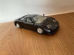 Subito a casa e in tutta sicurezza con ebay! Burago Black Bugatti Eb110 1991 Cod 1535 1 24 1 24 Scale Used Car Toy Vintage For Sale Online