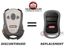 genie garage door opener remote replacementGICTD3 Mini Keychain 3 Button Intellicode Remote