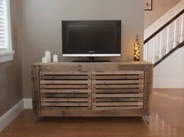 diy tv stands rustic cake stand ideas likeness 36 simple diy tv and designs