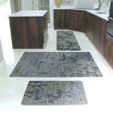 rubber backed kitchen mats photo 1 of 5 brown mottled flat weave area rugs beach hut style leaf print mat lovely large non