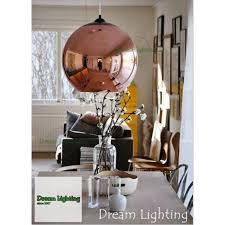 25cm dream lighting best er decorative ceiling lights pendants copper mirror ball rose gold
