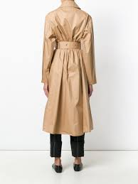 women s coats 2017 lemaire belted zipped trench coat 550 ochre comfortable 173ow201lf16 12461249 nfj337356013446 337356013446 115 83