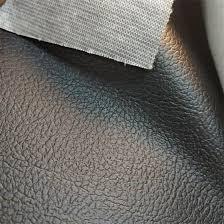 dark red leather vinyl soft pvc leather