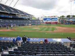 Royals Seating Chart 2012 Kauffman Stadium View From Dugout Box 135 Vivid Seats
