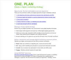 Digital Strategy Template 17 Digital Marketing Strategy