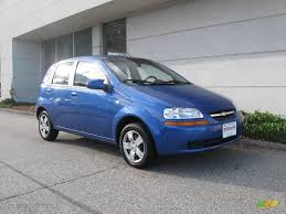 All Chevy chevy aveo 2006 : 2006 Bright Blue Chevrolet Aveo LS Hatchback #19829680 | GTCarLot ...