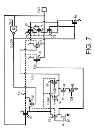 Patent us6208178 cmos over voltage tolerant output buffer drawing summing lifier circuit diagram symbols